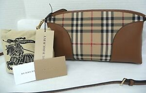 Details about Burberry Horseferry Check Crossbody Crossbody Clutch Bag New