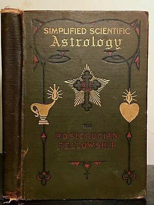 MAX HEINDEL - SIMPLIFIED SCIENTIFIC ASTROLOGY - THE ROSICRUCIAN FELLOWSHIP,  1928   eBay