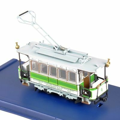 SLM 1:87 Scale Atlas Diecast Green G 33 -1894 Tram Model Trolley Vehicle Bus