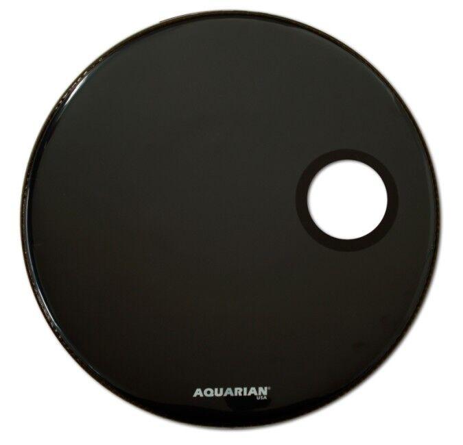 Aquarian Regulator 22'' Bass einlagig Drum BK - einlagig Bass schwarz d8485f