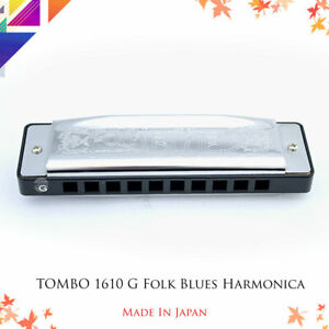 TOMBO-1610-G-Folk-Blues-Diatonic-Harmonica