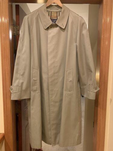 Burberry Trench Coat Men's 42 Vintage