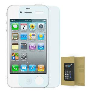 9h verre tremp iphone 4 4s hd protecteur d 39 cran temperglas contre rayure ebay. Black Bedroom Furniture Sets. Home Design Ideas