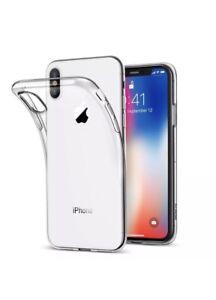 huge selection of ff90f 7b22a Details about iPhone X Case, iPhone 10 Clear Gel Case, Wholesale Job Lot 10  Pcs Clear Gel Case
