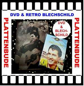 Scozzese-Elvis-Presley-nel-set-DVD-034-Frankie-e-Johnny-034-RETRO-TARGHETTA-in-Lamiera