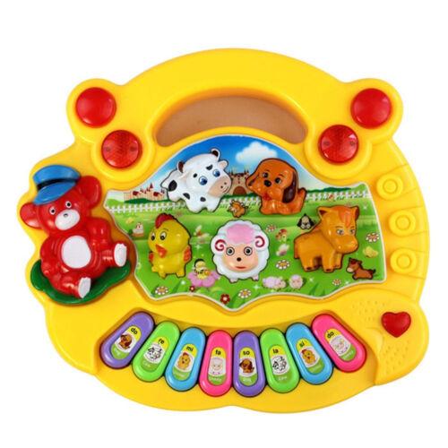 Baby Kids Musical Educational Animal Farm Piano Developmental Music Toys Gift