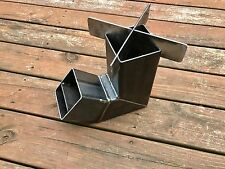 Self Feeding Rocket Stove with Removable Top  Camping Stove Wood Stove