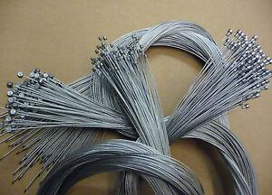 Bulk Stainless Steel  Bike Brake Barrel End Inner Cable Wire  Stainless Steel !