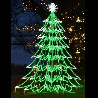 Christmas Tree Outdoor Lighted Yard Art