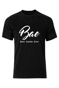 BAE-Best-Auntie-Ever-Ladies-Aunt-Funny-Tee-T-shirt-Gift-Present-Women
