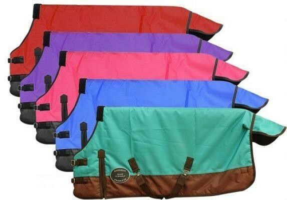 Pony  Yearling 48 -54  1200 Denier Waterproof Breathable Showman Turnout Blanket  cheapest