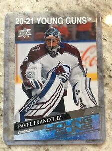 20-21 UD Upper Deck Series 1 Young Guns YG RC Rookie #249 PAVEL FRANCOUZ R338