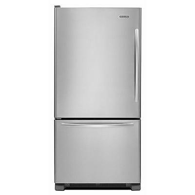 "KitchenAid KBLS19KCMS 30"" Stainless Bottom Freezer Refrigerator NEW Daily DEAL!"