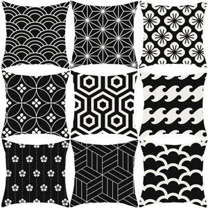 Am-Black-White-Series-Pillow-Case-Sofa-Waist-Throw-Cushion-Cover-Home-Decor-My