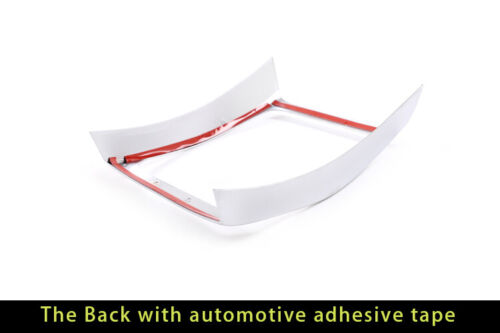 Inner Rear Air Vent Outlet Frame Trim For BMW 3 Series G20 G28 2019UP Silver