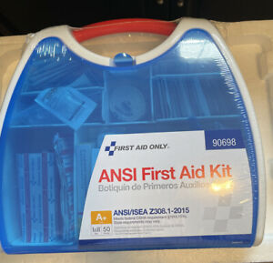 First Aid Only meets Osha reg First Aid Kit, ANSI A+, 238 Pieces (90698)