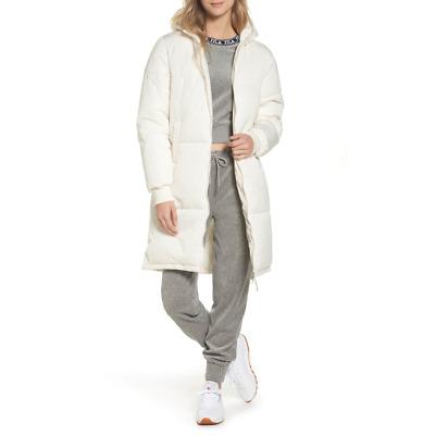 Fila Womens Ivory Grace Puffer Jacket Sz Small 3698