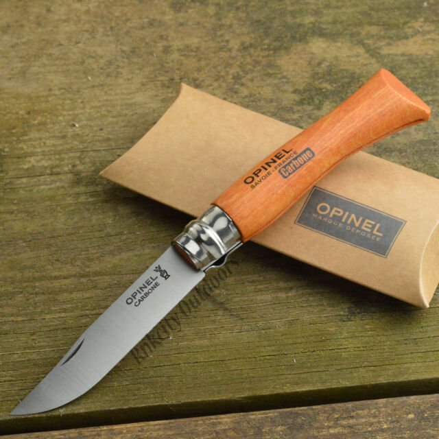 Opinel #7 French Made Beechwood Handle High Carbon Folding