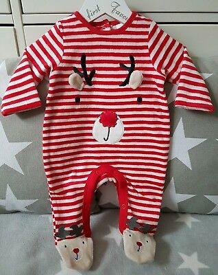 Strampler 62 68 74 80 Nicki Baby Stramplerhose Einteler Velour Schlafanzug Anzug
