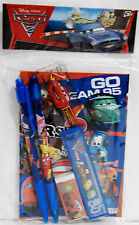 Disney Cars 2 McQueen Mater Shu Pit Crew Francesco Stationary Set Party Supplies