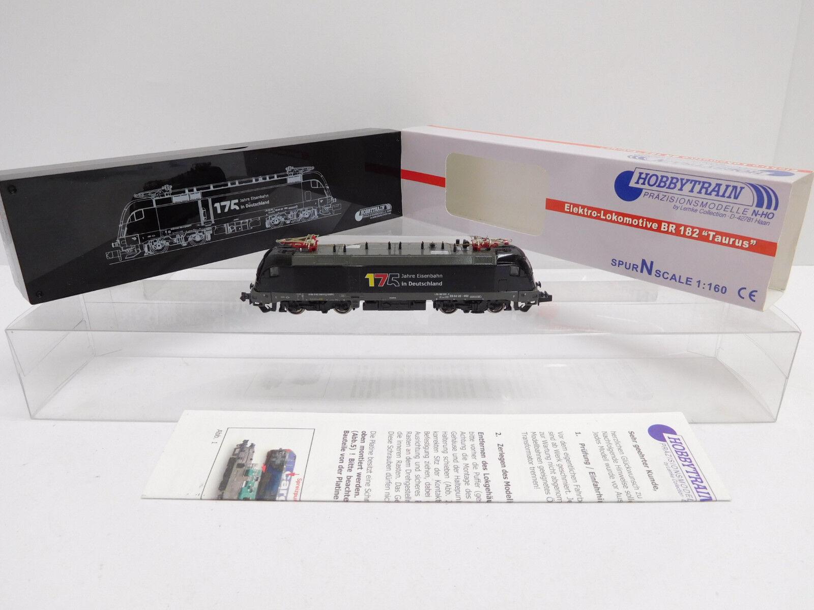 Eso-15159 Hobbytrain H2761 Spur N Digital E-lok Taurus BR 182 limitiert sehr gut
