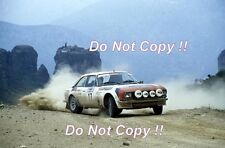Timo Makinen Peugeot 504 V6 Coupe Acropolis Rally 1980 Photograph