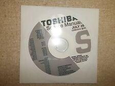 Toshiba Television Service Manual CD CDSMJUL02 *FREE SHIPPING*