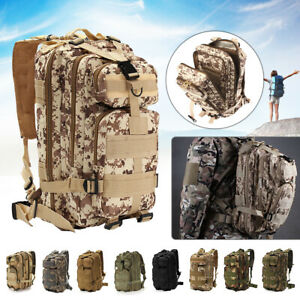 30L-3P-Military-Rucksacks-Tactical-Backpack-Camping-Hiking-Travel-Outdoor-Bag