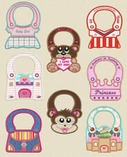 In the hoop  Baby Bibs Machine embroidery designs ( 5 x 7 Hoop )