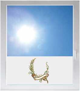 Sichtschutzfolie-Sonnenschutz-Fensterfolie-GMF0149-Tribal-Pflanze