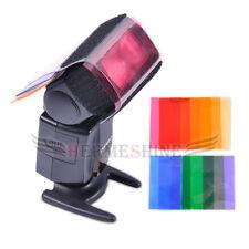 12 sets color card for Strobist Flash Gel Filter Color Balance with rubber band