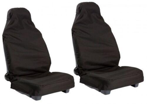 PORSCHE MACAN 16+ FRONT BLACK PAIR CAR SEAT COVER SET PROTECTORS