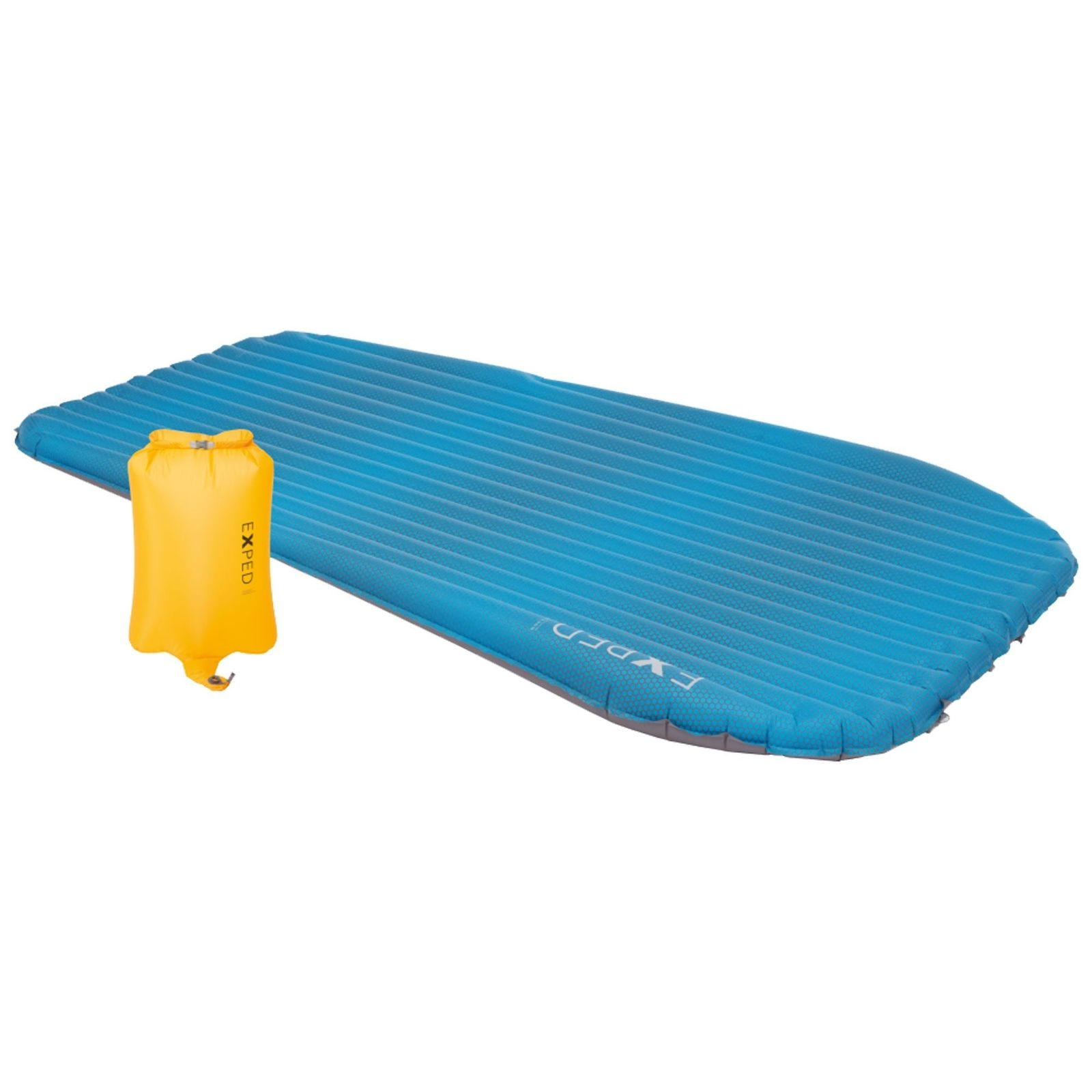 Exped AirMat HL Duo with Schnozzel Pumpbag Sleeping Mat - Blau