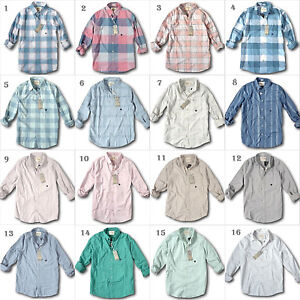 NWT-Hollister-by-Abercrombie-amp-Fitch-Men-039-s-Stretch-Plaid-Poplin-or-Oxford-Shirt