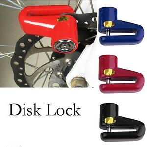 Anti Theft Disk Disc Brake Rotor Safety Lock For Scooter