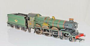 Hornby R2424 ,00 Gauge, Collett Castle Class 4-6-0 Loco,5074 Hampden Castle BR