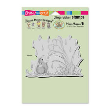 HOUSE MOUSE RUBBER STAMPS CLING CROCUS DROPLET NEW CLING STAMP
