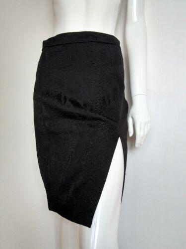marque de New longueur textur genou Jupe en serpent Altuzarra peau 8 de Taille marque noir EqSwXxgwZ