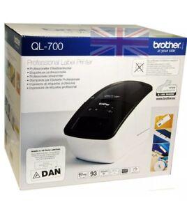 Details about Brother Thermal Label Printer QL-700 QL700 Print Address  Labels,