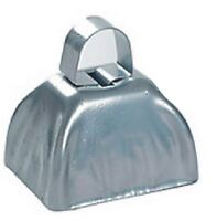 Silver Cowbells Cow Bells Metal FREE SHIPPING School Sports Noise Maker