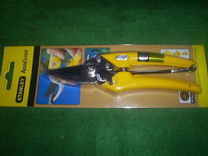 STANLEY-ACCUSCAPE-0-74-046-SECATEURS-BYPASS-PRUNERS-JAPANESE-QUALITY