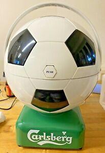 Carlsberg-Football-Mini Cooler Chiller & Warmer-Husky-Mains-Car-1990-Vintage