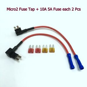Vehicle Electronics & GPS 10 x NEW Micro2 Add-A-Circuit Fuse Tap ATR APT Car Fuse Holder Adapter #gtz