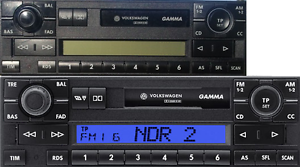 Autoradio-VW-Gamma-5-V-T5-T4-Multivan-Polo-Passat-Golf-Lupo-Sharan-Caddy
