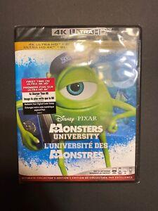 Disney-Pixar-Monsters-University-4k-Blu-Ray-Digital-New-And-Sealed