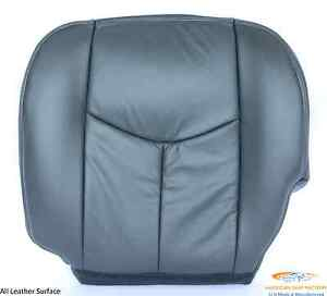 2003 2004 2005 2006 2007 chevy silverado avalanche bottom seat cover dark gray ebay. Black Bedroom Furniture Sets. Home Design Ideas