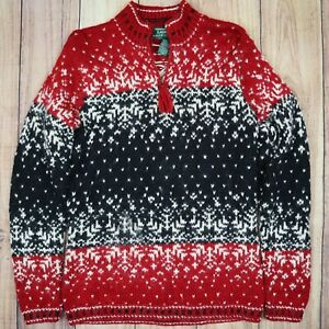 Womens-Vintage-Lauren-Ralph-Lauren-Hand-Knitted-Wool-Sweater-Size-Small