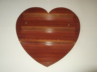 Pine huge range - see list 36pc Heart Wooden Thimble Display Rack