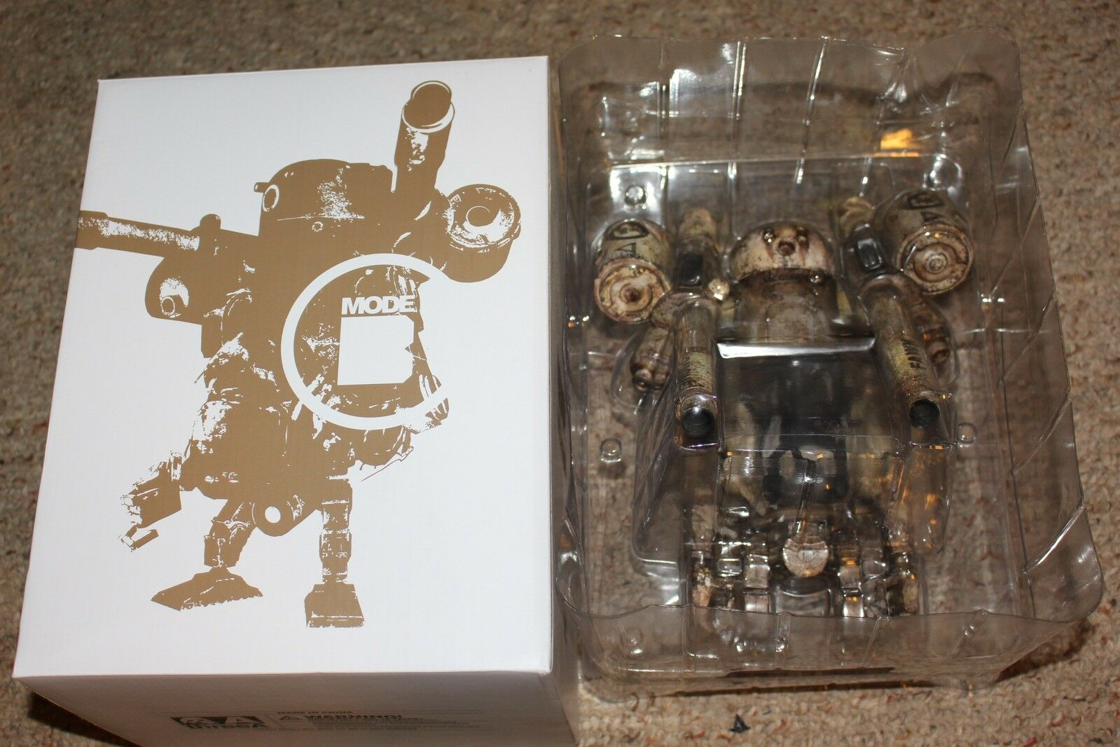 3A ThreeA Bertie Mk3 P World War Robot Figure Complete in