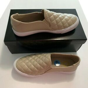 womens quilted slip on sneakers